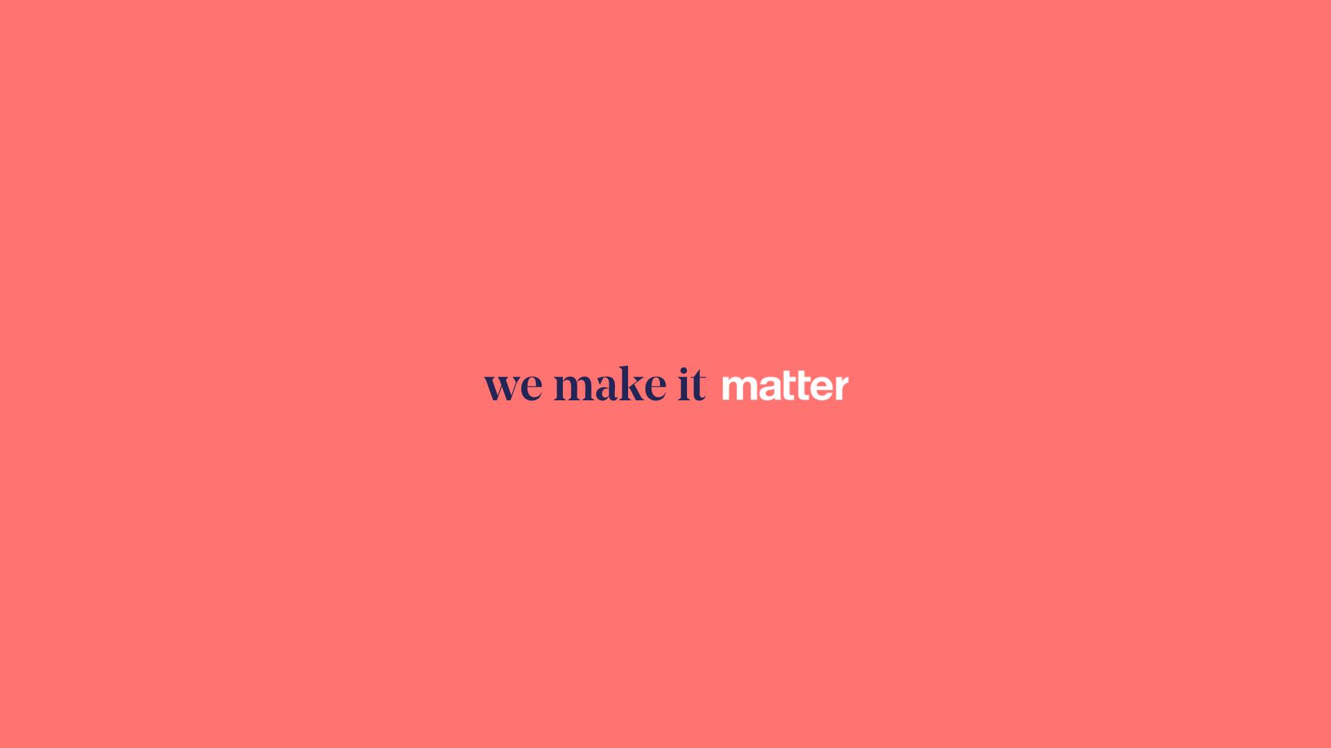 Matter Website Redesign